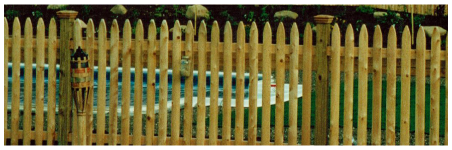 The Look Of A Traditional Wood Fence With Low Maintenance And Long Lasting Benefits Vinyl